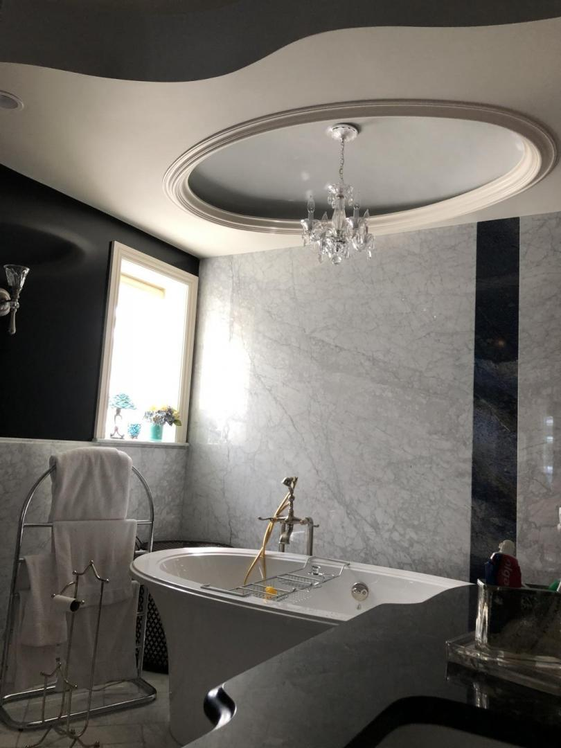Washroom - Dome with indirect Lighting  Cove